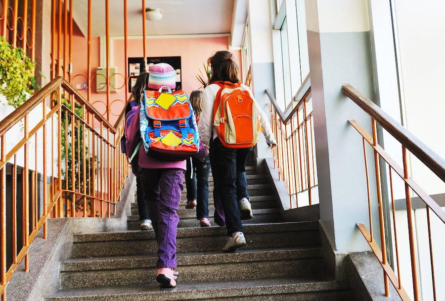 Happy School Girls