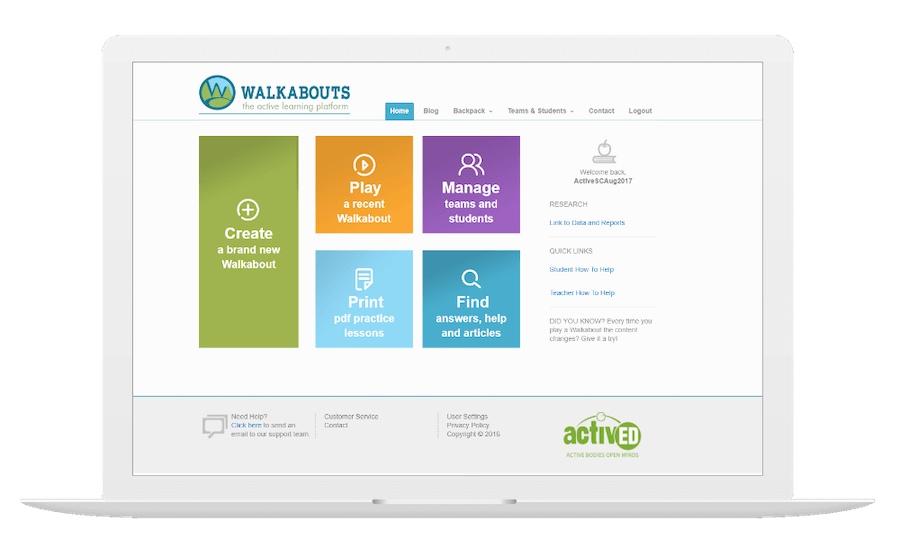 Walkabouts Desktop Preview