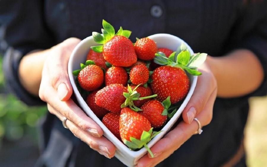 Valentines Day Strawberries